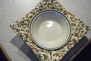 Microwavable Fabric Bowl